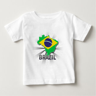 Brazil Flag Map 2.0 Shirts