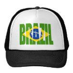 BRAZIL Flag Mesh Hat