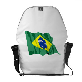 Brazil Flag Courier Bag