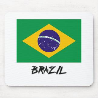 Brazil Flag Mouse Mats