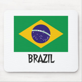 Brazil Flag Mouse Pads