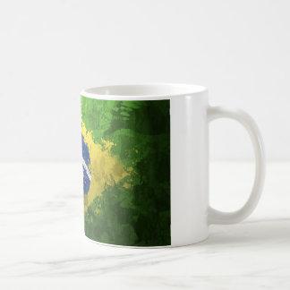 Brazil-Flag- Coffee Mug