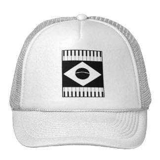 Brazil Flag Music Trucker Hat