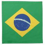 Brazil Flag Napkin