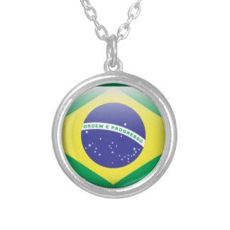 Brazil Flag Custom Necklace