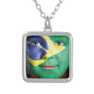 Brazil Flag Necklaces