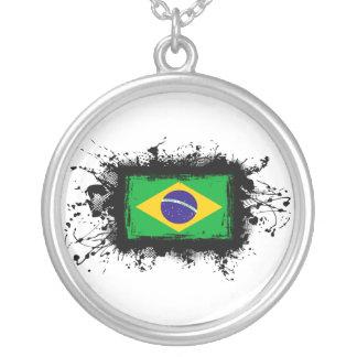 Brazil Flag Pendant