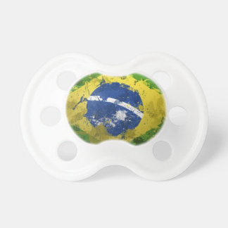 Brazil-Flag- Baby Pacifier
