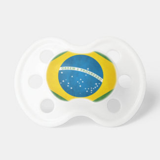 Brazil Flag Pacifiers