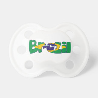 brazil flag pacifier