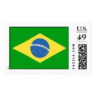 Brazil Flag Postage