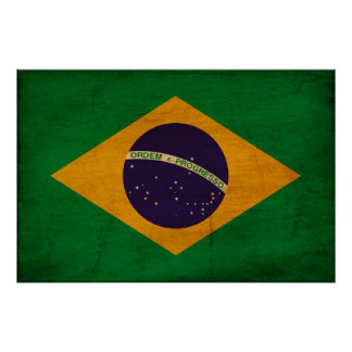 Brazil Flag Posters