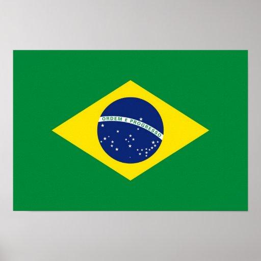 Striking image inside brazil flag printable