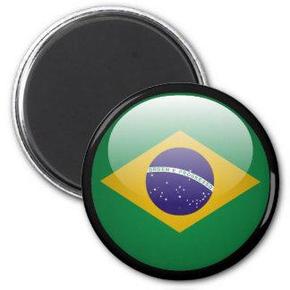 Brazil Flag Refrigerator Magnets