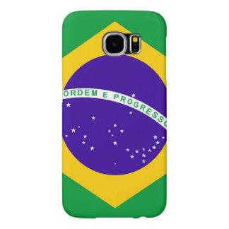 Brazil Flag Samsung Galaxy S6 Case