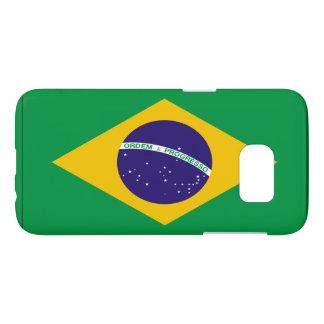 Brazil flag samsung galaxy s7 case