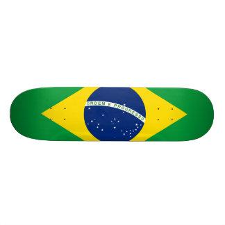 Brazil Flag Skate Board Deck