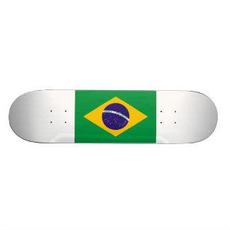 Brazil Flag Skateboard Deck