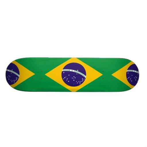 Brazil Flag Skateboard