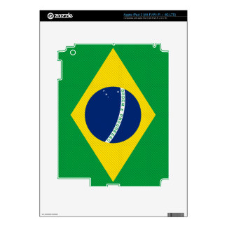 Brazil Flag Skins For iPad 3