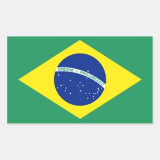 Brazil* Flag Stickers