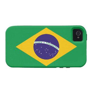Brazil Flag Tough™ iPhone 4 Case