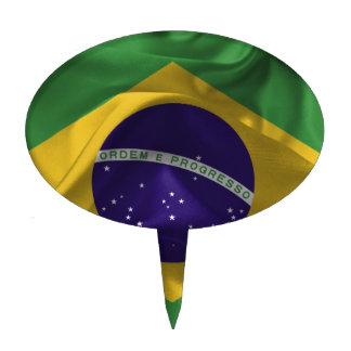brazil-Flags Cake Topper