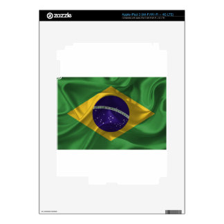 brazil-Flags Decal For iPad 3