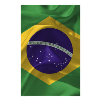 brazil-Flags Stationery