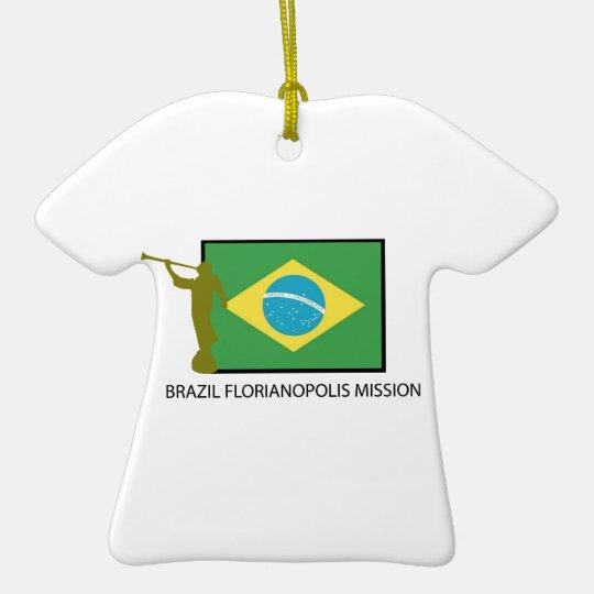 BRAZIL FLORIANOPOLIS MISSION LDS CERAMIC ORNAMENT