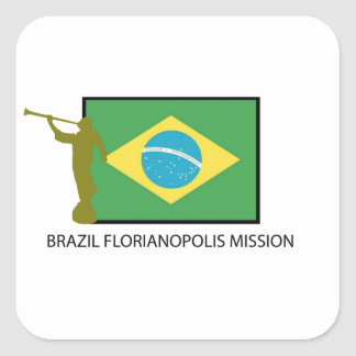 BRAZIL FLORIANOPOLIS MISSION LDS STICKERS