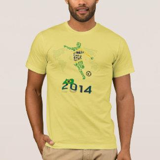 BRAZIL FOOTBALL 2014 T-Shirt