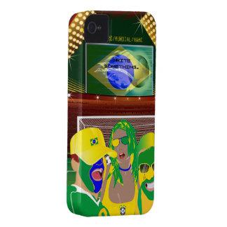 Brazil Football Fan iPhone 4 Case