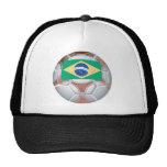 Brazil Football Hat