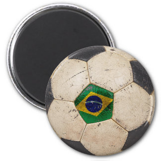 Brazil Football Magnet