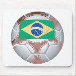 Brazil Football Mouse Pads