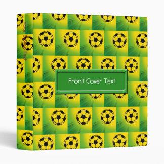 Brazil football pattern binder