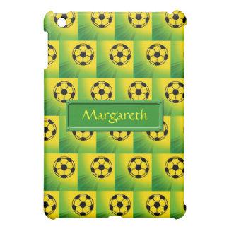 Brazil football pattern iPad mini case