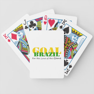 Brazil - For the Love of the Game Bicycle Playing Cards