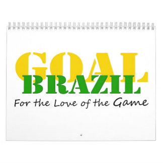 Brazil - For the Love of the Game Calendar