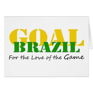Brazil - For the Love of the Game Card