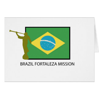 BRAZIL FORTALEZA MISSION LDS CARD