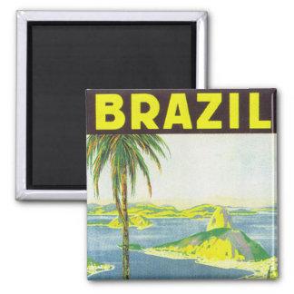 Brazil Fridge Magnet
