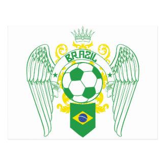 Brazil Futbol Postcards
