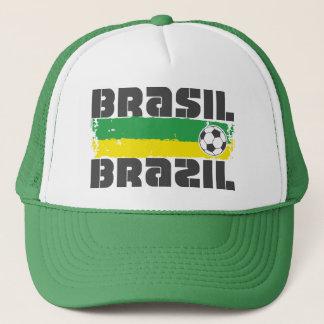 Brazil Futbol Trucker Hat