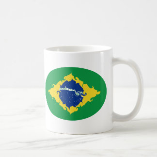 Brazil Gnarly Flag Mug