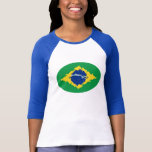 Brazil Gnarly Flag T-Shirt