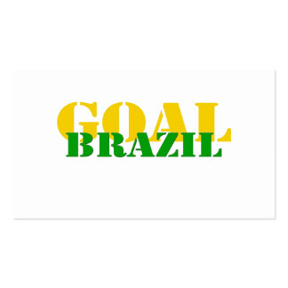 Brazil - Goal Business Cards