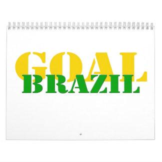Brazil - Goal Wall Calendar