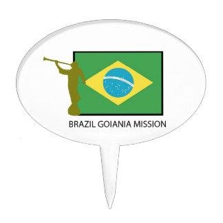 BRAZIL GOIANIA MISSION LDS CAKE TOPPER